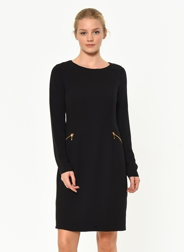Ekol Elbise Siyah
